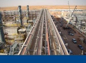 Khurais Oil & Gas facilities – Foundations & Pipe Racks