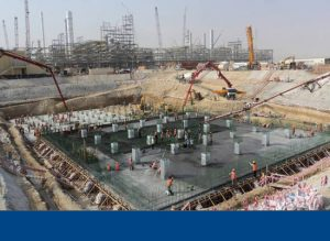 JER - Underground Large Basin – Raft Foundation